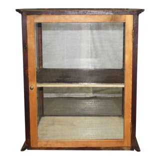 Rustic Pie Display Case For Sale