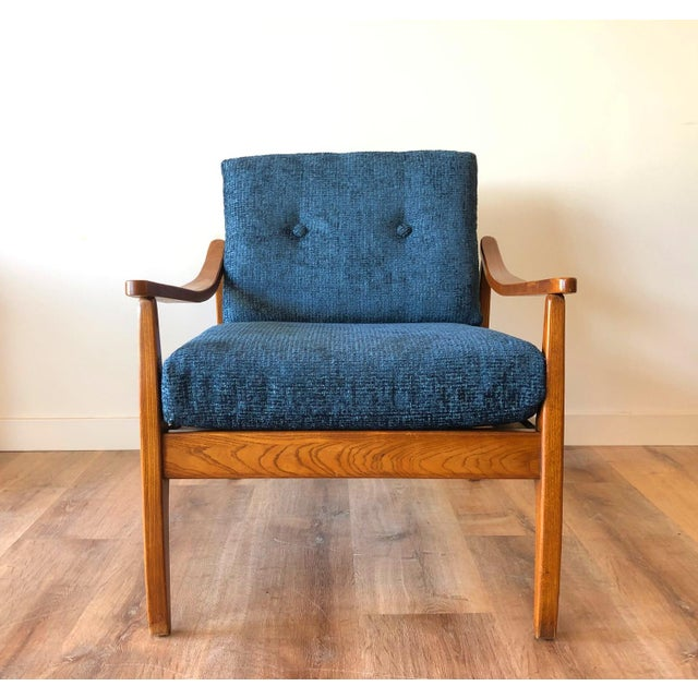 Mid-Century Modern Side Chair For Sale In Seattle - Image 6 of 13