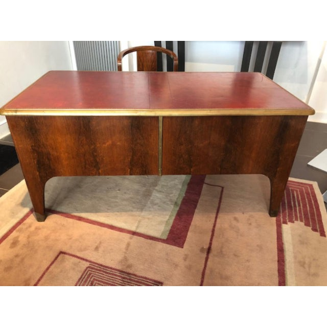 Art Deco 1930s Art Deco Designer Desk or Writing Table Designed by Paul Dupré-Lafon For Sale - Image 3 of 5