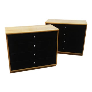 Jack Cartwright Modern Nightstands/Bachelors Chests for Founders Furniture - A Pair For Sale