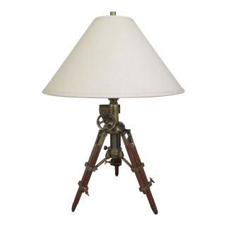 Restoration Hardware Surveyor Adjustable Table Lamp For Sale