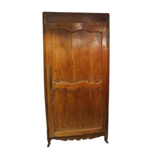French Country Wooden Armoire For Sale