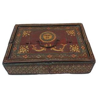 Antique Indian Letter Box For Sale