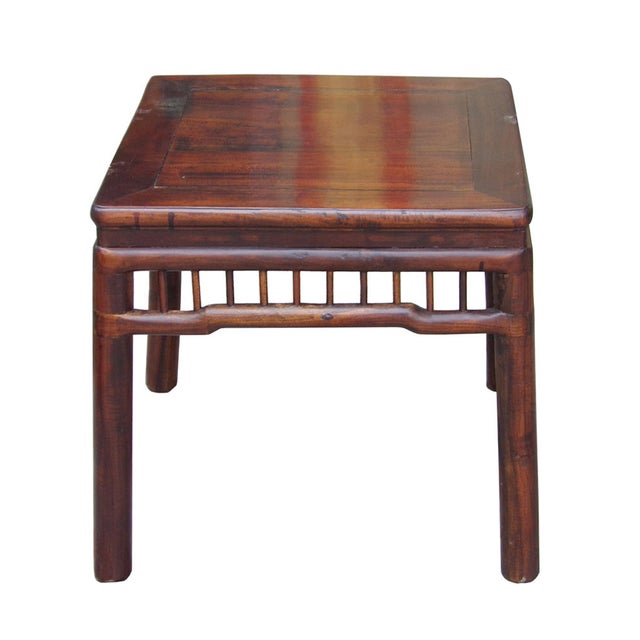 Chinese Handmade Square Side Table - Image 1 of 5