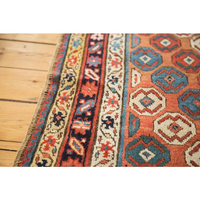 "Antique Caucasian Rug - 3'9"" X 6'11"" - Image 4 of 9"