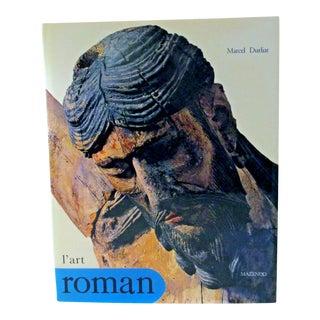 1990s Mint l'Art Roman by Marcel Durliat French Version Book For Sale