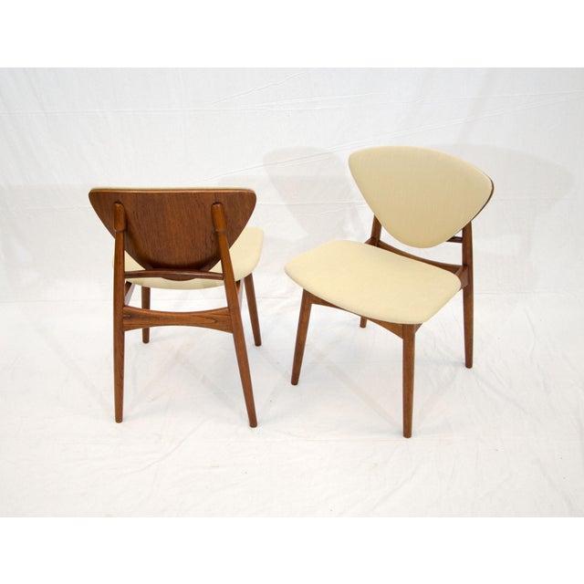 Set of Six Danish Teak Dining Chairs, Arne Hovmand Olsen For Sale - Image 9 of 13