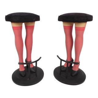 Unique Contemporary Modern Legs Bar Stools