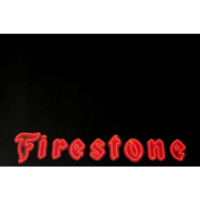 Charlie Bidwell Firestone Print - Image 2 of 2