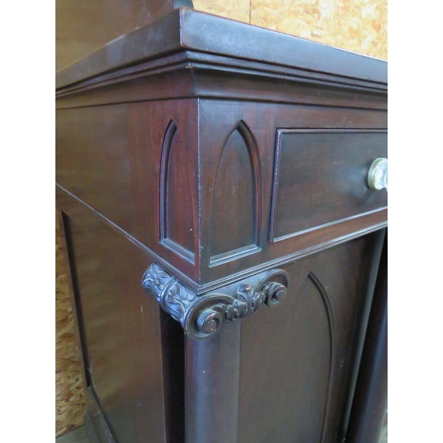 Potthast Gothic Empie Mahogany Sideboard For Sale - Image 4 of 8