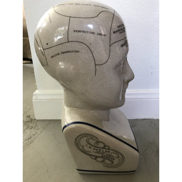 L. N. Fowler Phrenology Bust - Image 5 of 6