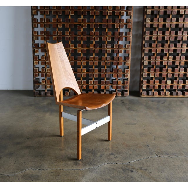 Leon Meyer Studio Occasional Chair, Circa 1977 For Sale - Image 9 of 10