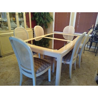 Transitional Thomasville Prestige II - Blonde Wood Dining Set - 9 Piece Set Preview