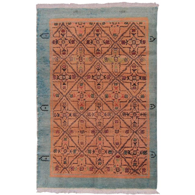 Pair of Oushak Rugs For Sale