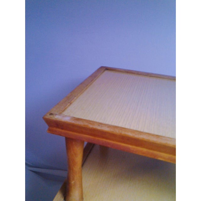 Vintage Mid-Century 2 Tier Side Table For Sale In West Palm - Image 6 of 6