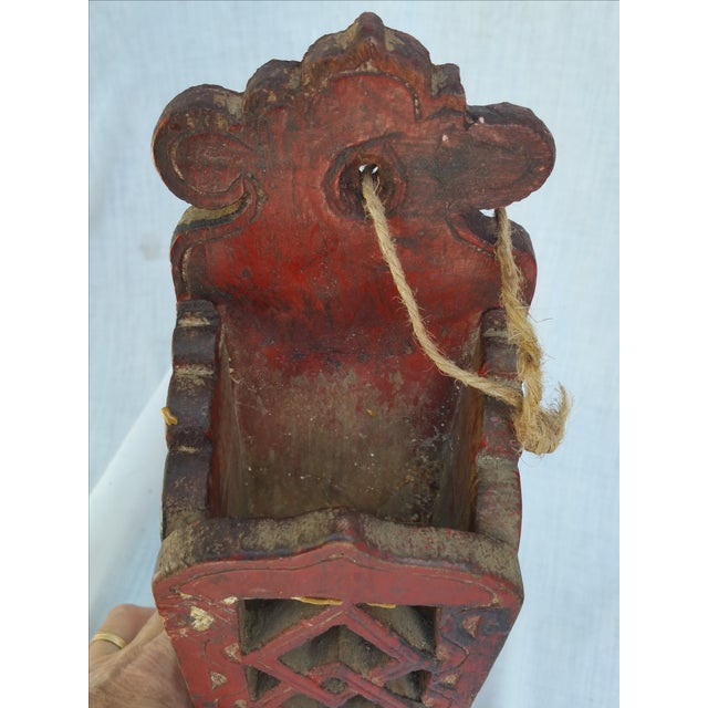 Vintage 1960s Chinese Chop Stick Holder - Image 4 of 5