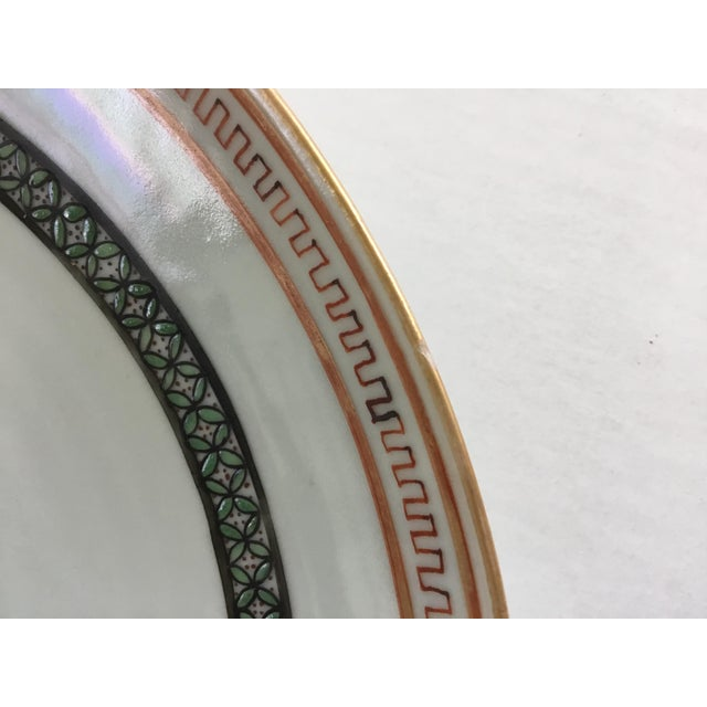 Ceramic Early 19th Century Chinese Export Plate For Sale - Image 7 of 11