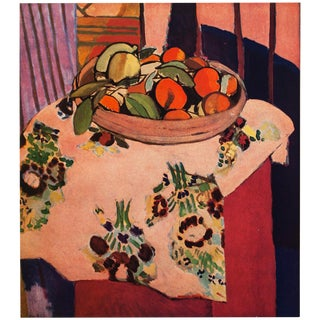 "Henri Matisse Original Swiss ""Oranges"" Lithograph, C. 1940s For Sale"