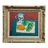"""Image of Jean-Claude Quilici- Nature Morte """"Still Life"""" French Oil Painting"""