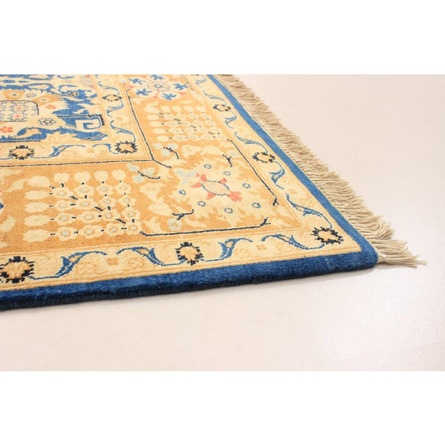 """Boho Chic Bohemian Hand-Knotted Rug, 6'0"""" X 8'7"""" For Sale - Image 3 of 6"""