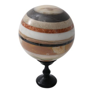 Marble Sphere on Stand, 1960s