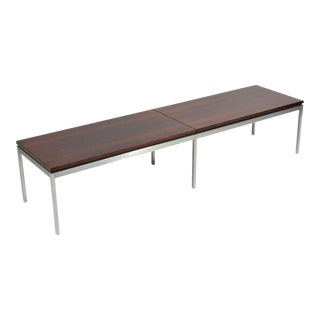 Florence Knoll Rosewood Table or Bench For Sale