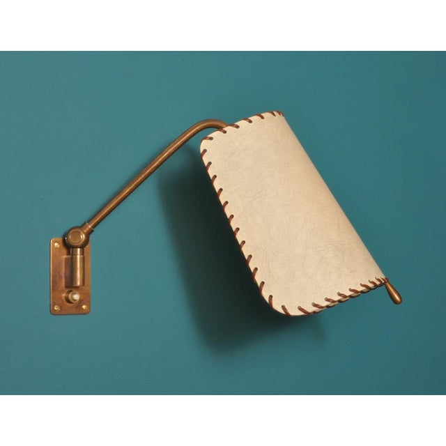 AMBA Alfred Muller Wall Lamp, Switzerland 1940s For Sale - Image 4 of 10