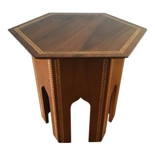 1940s Antique Tea Table For Sale