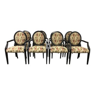 A.Rudin Arm Chairs - Set of 8