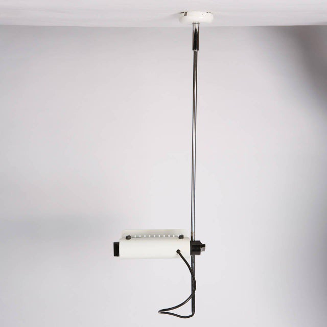 """O-Luce Set of Three """"Colombo"""" Ceiling Lamps by Joe Colombo for Oluce For Sale - Image 4 of 10"""