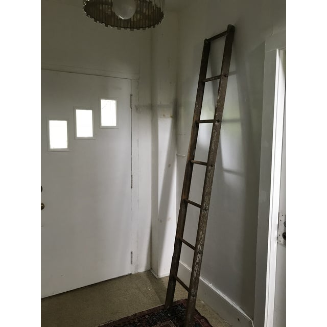 Late 19th Century 19th Century Barn Ladder From Apple Farm For Sale - Image 5 of 8