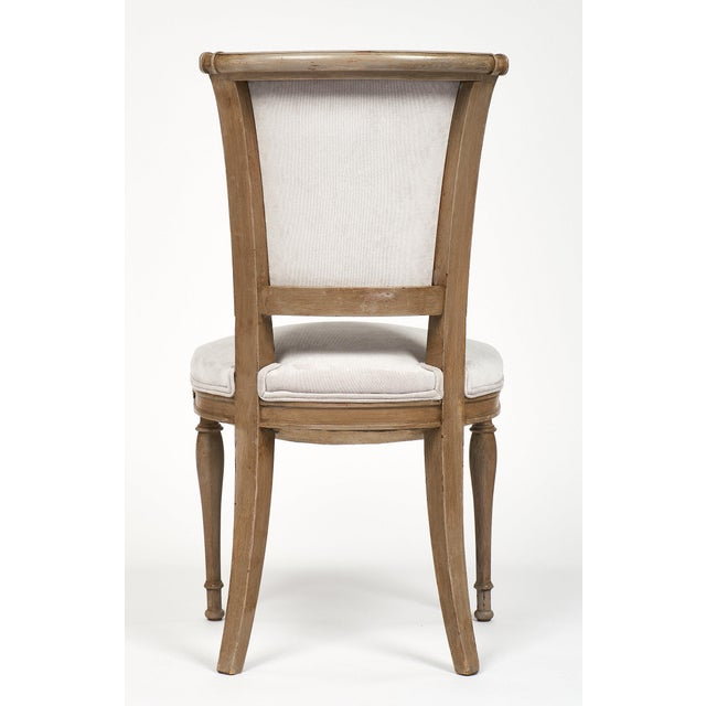 Tan Directoire Style Dining Chairs - set of 6 For Sale - Image 8 of 10