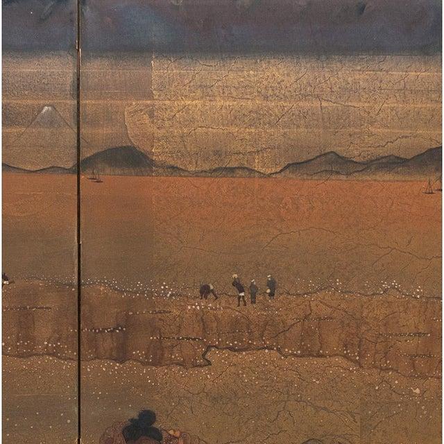 1880 Japanese Byobu Screen For Sale - Image 9 of 12