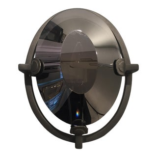 Geometric Grey Glass Wall Sconce
