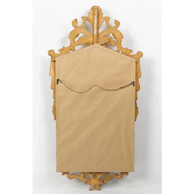 Italian Neoclassical Style Carved Giltwood Mirror by Cannell & Chaffin