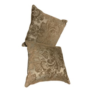 Modern Ralph Feather & Down Pillows- a Pair For Sale