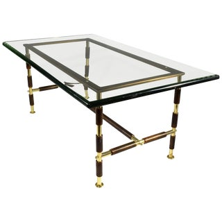 20th Century Italian Coffee Table by Max Infor Fontana Arte For Sale