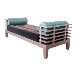 "Adriana Hoyos Modern ""Chocolate"" Day Bed For Sale"