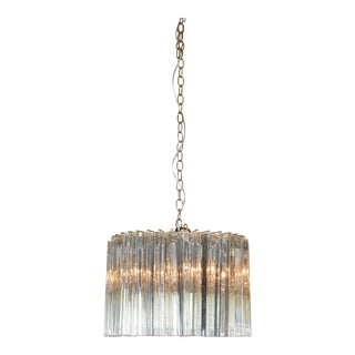 Camer Dramatic Crystal Chandelier For Sale