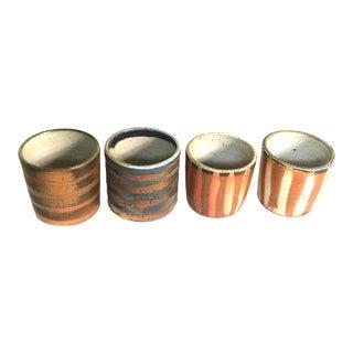 Stoneware Ceramic Sake Cups