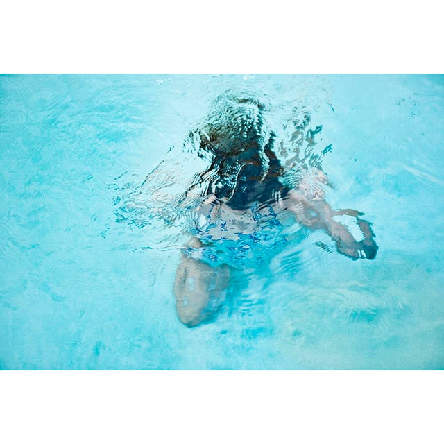 "Contemporary Cheryl Maeder, ""Submerge V"",Archival Photographic Watercolor Print For Sale - Image 3 of 3"