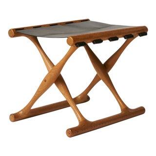 """Poul Hundevad """"Guldhoj"""" stool For Sale"""