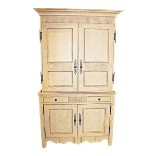 Baker Linen Press Armoire For Sale