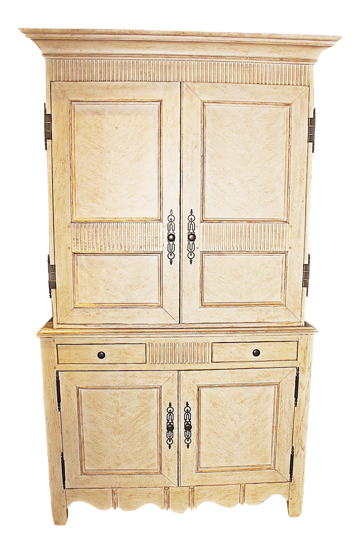 Incroyable Baker Linen Press Armoire