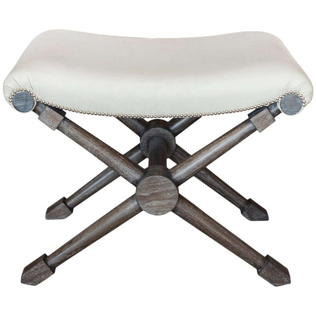X-Base Bench in Leather For Sale