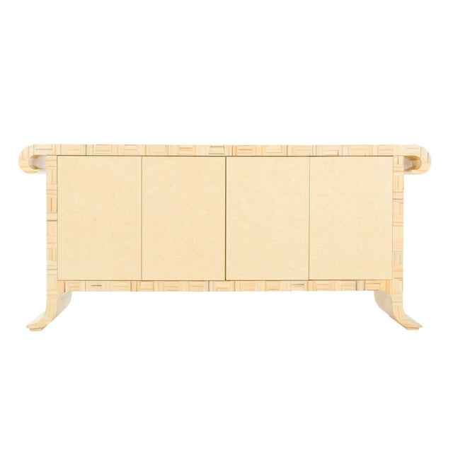 1980's Credenza by Alessandro Gambrelli for Baker For Sale - Image 11 of 11
