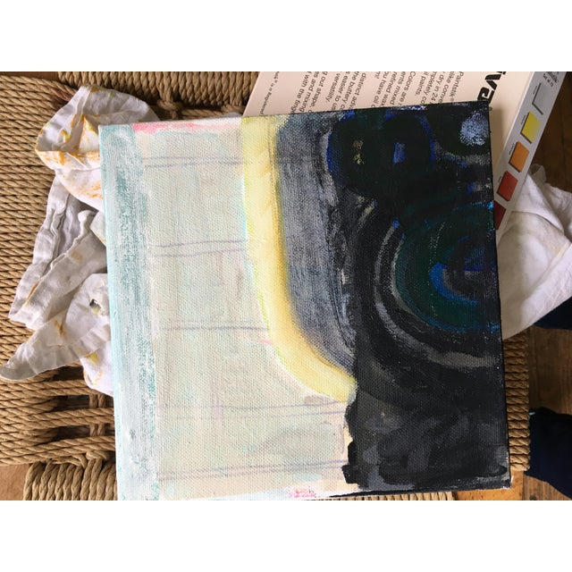 Abstract Manito Basalt Bridge Painting For Sale - Image 3 of 4