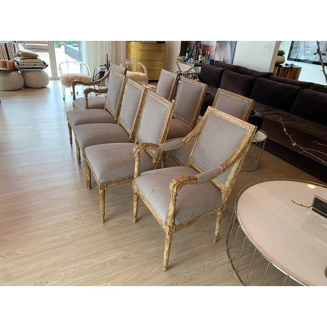 Nancy Corzine Chairs - Set of 8 For Sale - Image 11 of 13