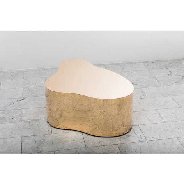 """Modern Karl Springer LTD, Bronze Free Form Low Table """"C"""", USA, 2016 For Sale - Image 3 of 13"""