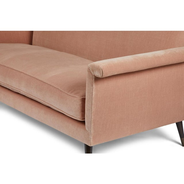Metal Mid-Century Modern Italian Style Loveseat by Martin and Brockett For Sale - Image 7 of 8
